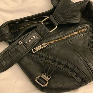 Gwen Stefani lamb black bag